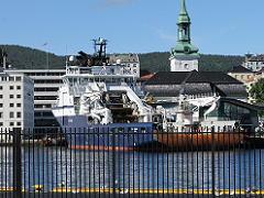 ベルゲンの捕鯨船