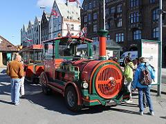 ノルウェー・ベルゲンの観光自動車