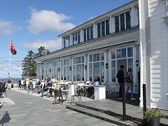 フロイエン山頂のレストラン