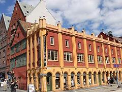 ベルゲンのハンザ博物館