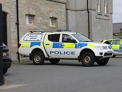 ラーウィックの警察車両