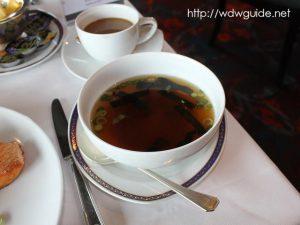 Pan Asian Breakfastのミソスープ