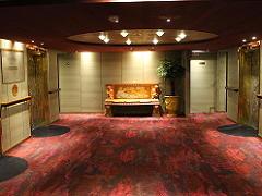 ザイデルダムのエレベーターホール