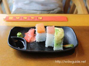 リドのランチの押し寿司