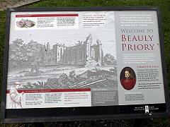 Beaury Priory修道院跡