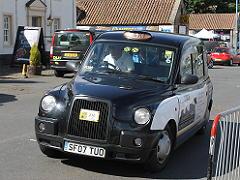 サウス クイーンズフェリーで見たタクシー