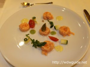 Salmon Tartare with Zucchini