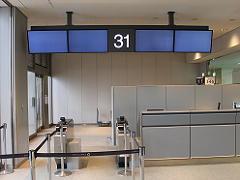 成田空港の搭乗口31番