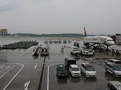 成田トラベルラウンジから見た風景
