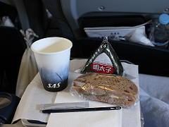 スカンジナビア航空のプレミアムエコノミーの軽食