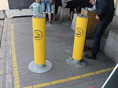 コペンハーゲン カストロップ空港の喫煙所