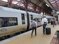 コペンハーゲンの電車
