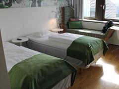 スカンデック コペンハーゲンのベッド