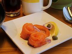 ザイデルダムのリドでの朝食