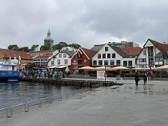 スタヴァンゲル港周辺