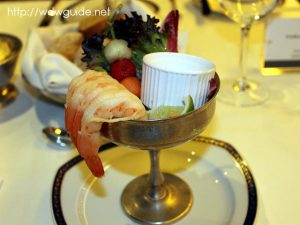 Orange-Jumbo Shrimp Cocktail