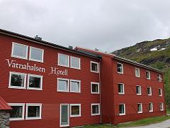 ノルウェーヴァトナハルセンのホテル