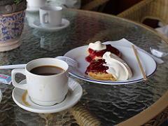 ヴァトナハルセン ホテルのパンケーキ