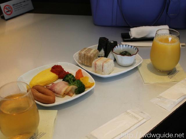 ANAスイートラウンジ(SUITE LOUNGE)の朝食
