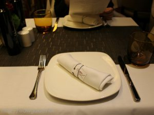 ザイデルダムのカナレット のテーブルセッティング