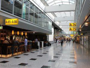 デュッセルドルフ空港のターミナルA