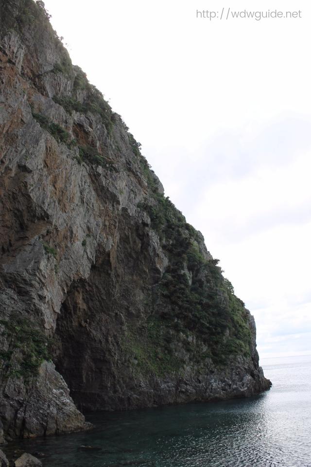 奄美大島の徳浜の断崖