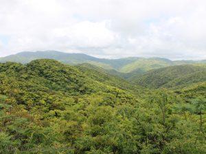 奄美大島・赤土山展望台からの眺望