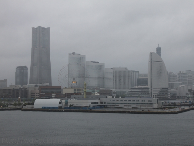 フォーレンダムから見た横浜港