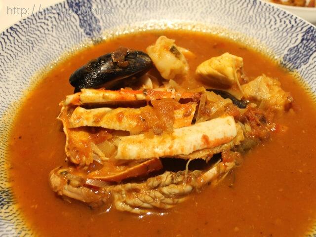 ウエステルダム ルディズ セルドゥメールの前菜スープ