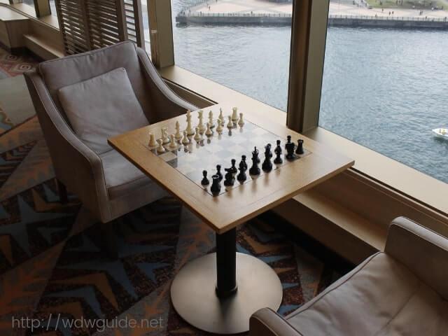 クロウズネストにあるチェス