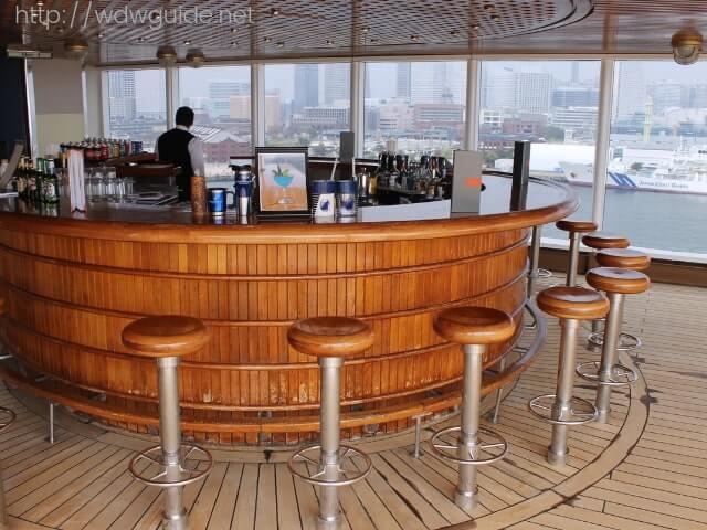 ウエステルダムのシービューバー(Sea View Bar)