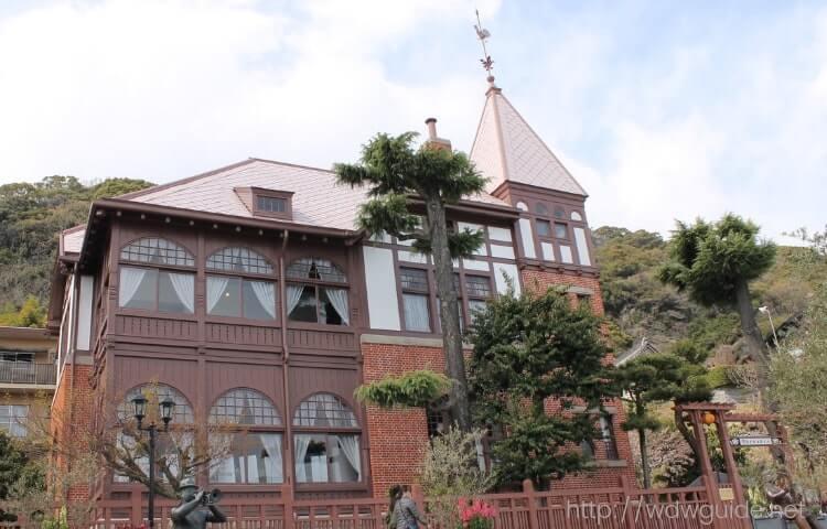 神戸異人館の風見鶏の家(旧トーマス住宅)