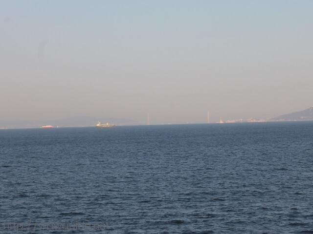 ウエステルダムから見た瀬戸大橋