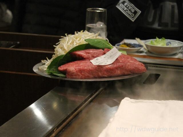 ステーキランド神戸館のお肉