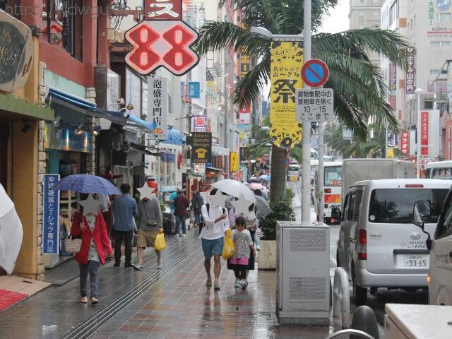 沖縄那覇の国際通り