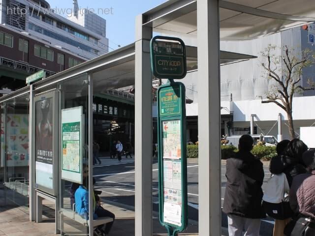 神戸のシティーループ(CITY LOOP)の三宮駅のバス停