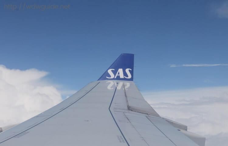 スカンジナビア航空 プレミアムエコノミークラス (SAS Plus : SASプラス)  搭乗記