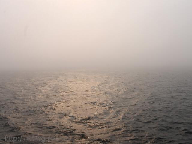 ウエステルダムから見た海
