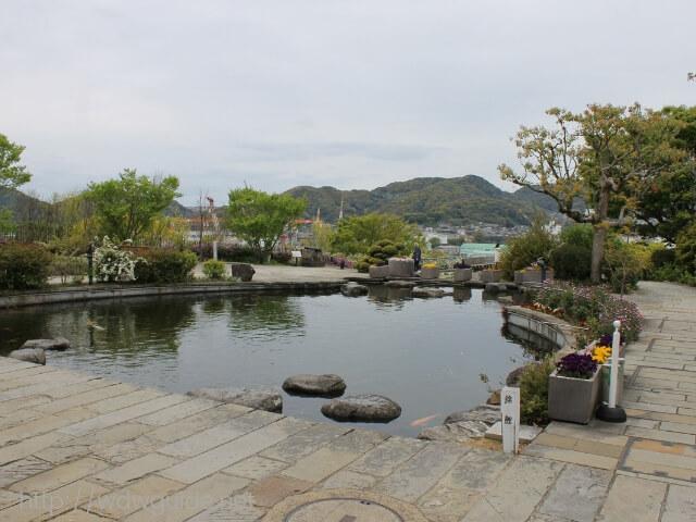 長崎のグラバー園内