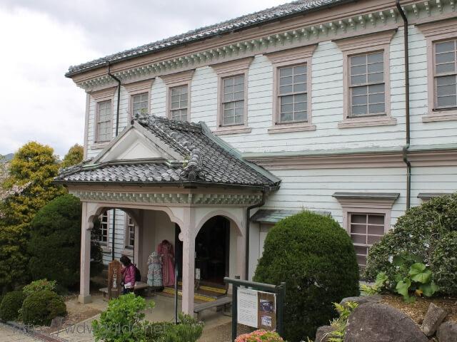 長崎のグラバー園にある長崎地方裁判所官舎