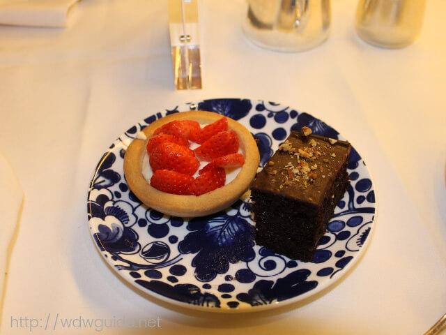ウエステルダムのティータイムで食べたデザート