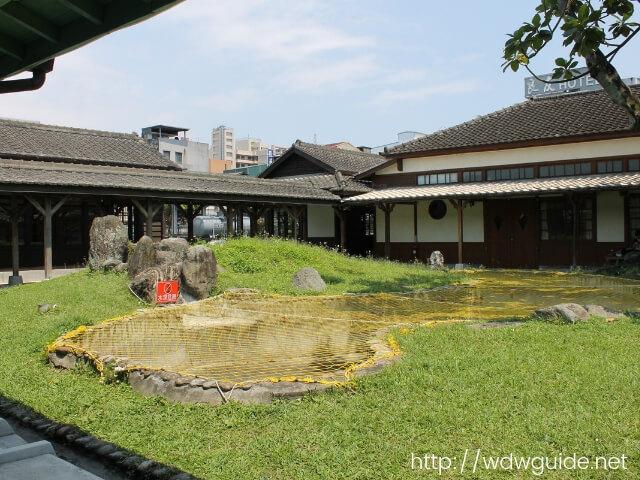花連鐵道文化園区の中庭