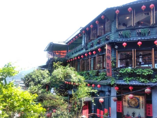 台湾・九份にある阿妹茶楼