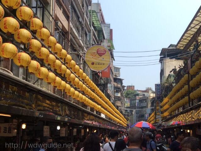 台湾の基隆廟口夜市