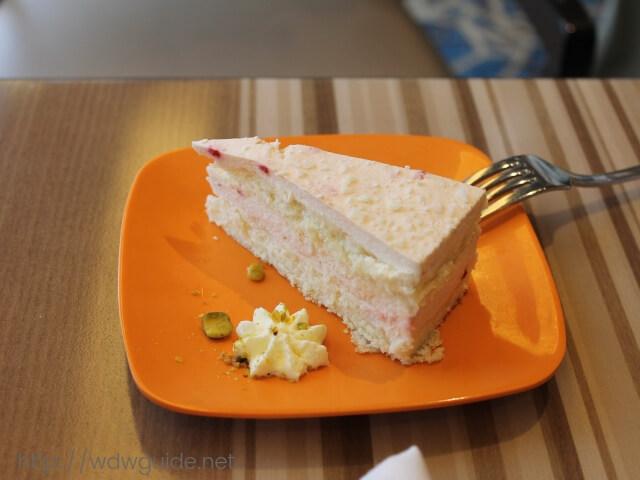 ウエステルダムのリドで食べたデザート