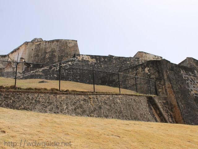 プエルトリコのサンフアンにあるサンクリストバル要塞