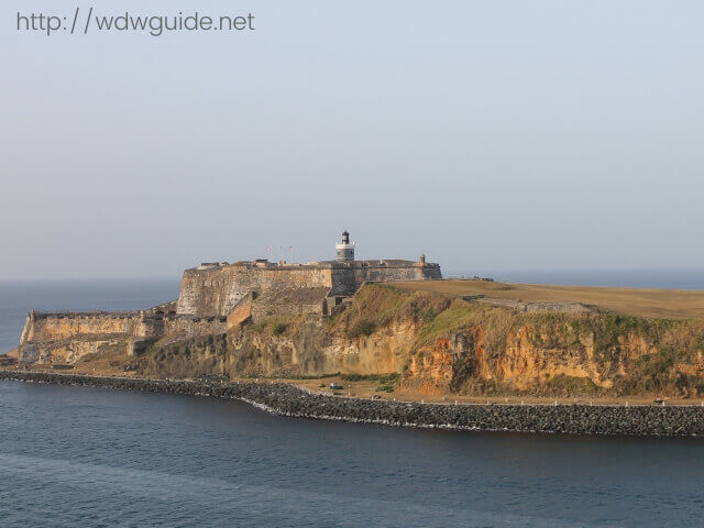 東カリブ海のプエルトリコにあるサンクリストバル要塞