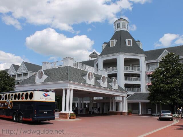 Walt Disney World (WDW)のヨットクラブリゾート