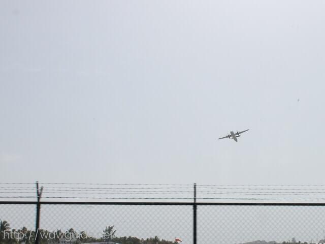 セントマーチンの一番の観光スポットのプリンセス・ジュリアナ国際空港