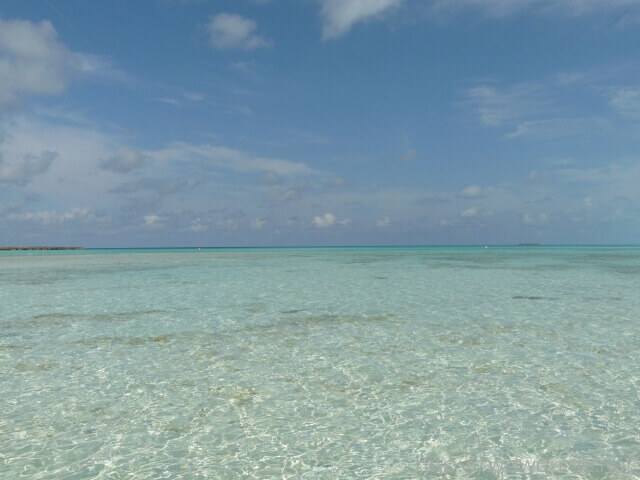 カリブ海に浮かぶディズニープライベートアイランドのキャスタウェイ・ケイ